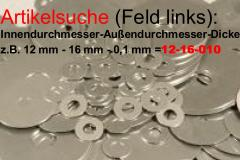 shims -> Artikelsuche: Øinnen(mm)-Øaußen(mm)-Dicke(z.B. 0,2mm=020) zB. 21-24-020